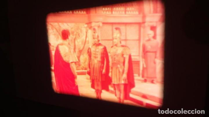 Cine: LA TÚNICA SAGRADA-PELICULA SUPER 8MM RETRO VINTAGE FILM - Foto 35 - 106959227