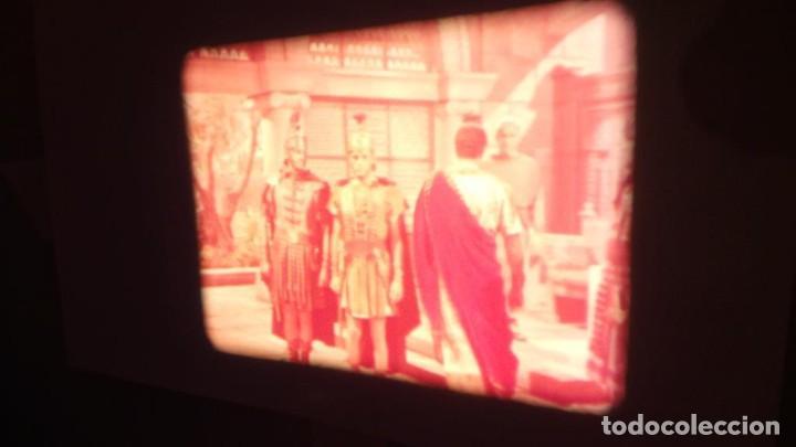 Cine: LA TÚNICA SAGRADA-PELICULA SUPER 8MM RETRO VINTAGE FILM - Foto 37 - 106959227