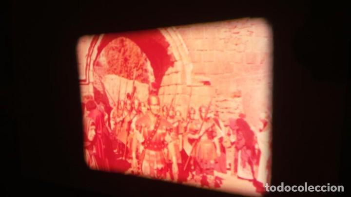 Cine: LA TÚNICA SAGRADA-PELICULA SUPER 8MM RETRO VINTAGE FILM - Foto 38 - 106959227