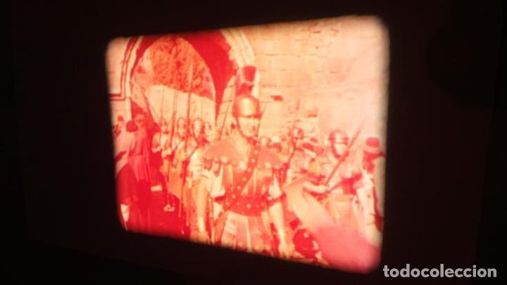 Cine: LA TÚNICA SAGRADA-PELICULA SUPER 8MM RETRO VINTAGE FILM - Foto 39 - 106959227