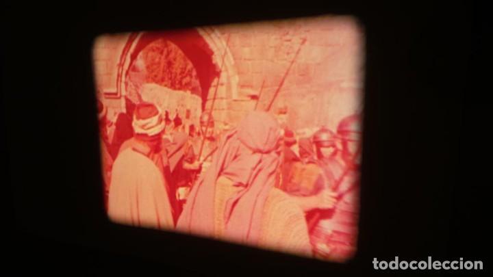Cine: LA TÚNICA SAGRADA-PELICULA SUPER 8MM RETRO VINTAGE FILM - Foto 41 - 106959227