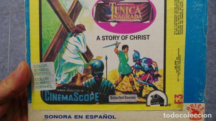 Cine: LA TÚNICA SAGRADA-PELICULA SUPER 8MM RETRO VINTAGE FILM - Foto 55 - 106959227