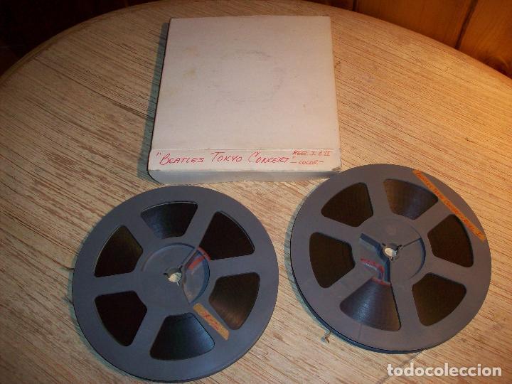 BEATLES TOKYO CONCERT . DOS BOBINAS DE SUPER 8 (Cine - Películas - Super 8 mm)