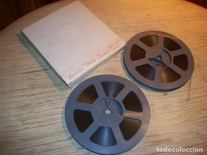 Cine: BEATLES TOKYO CONCERT . DOS BOBINAS DE SUPER 8 - Foto 2 - 107207331