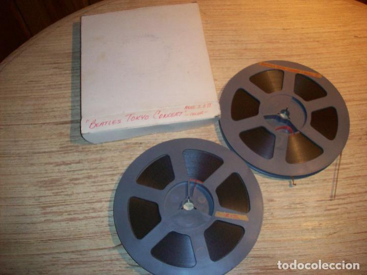 Cine: BEATLES TOKYO CONCERT . DOS BOBINAS DE SUPER 8 - Foto 3 - 107207331