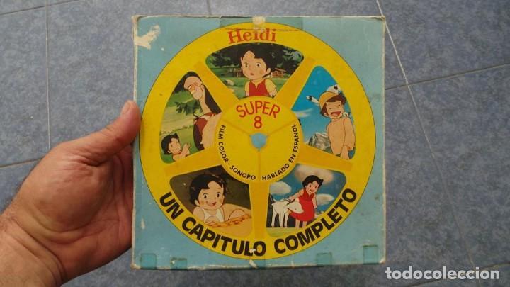 HEIDI-TORMENTA DE NIEVE,1976-PELÍCULA SUPER 8MM-RETRO VINTAGE FILM (Cine - Películas - Super 8 mm)