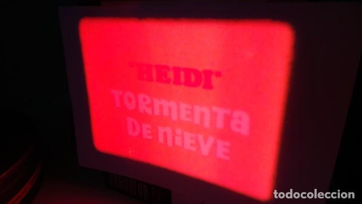Cine: HEIDI-TORMENTA DE NIEVE,1976-PELÍCULA SUPER 8MM-RETRO VINTAGE FILM - Foto 14 - 107259927