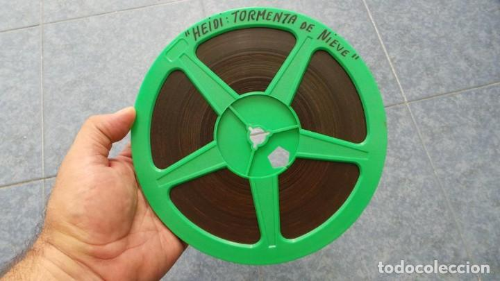 Cine: HEIDI-TORMENTA DE NIEVE,1976-PELÍCULA SUPER 8MM-RETRO VINTAGE FILM - Foto 26 - 107259927