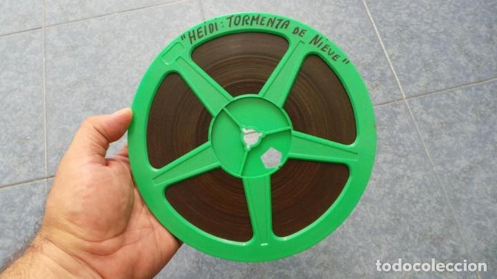 Cine: HEIDI-TORMENTA DE NIEVE,1976-PELÍCULA SUPER 8MM-RETRO VINTAGE FILM - Foto 27 - 107259927
