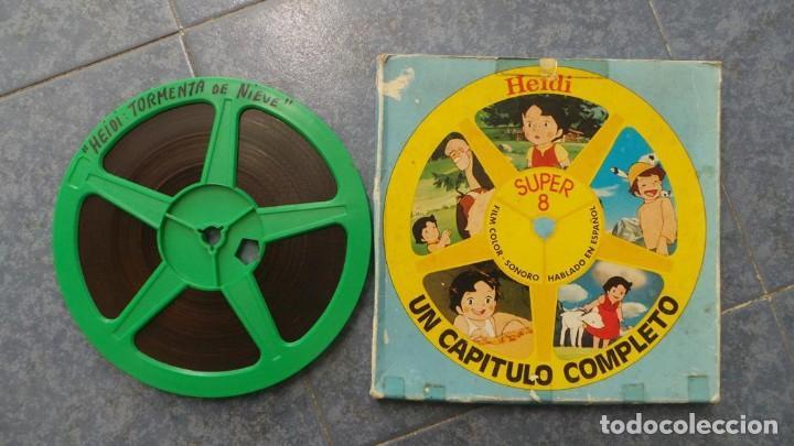 Cine: HEIDI-TORMENTA DE NIEVE,1976-PELÍCULA SUPER 8MM-RETRO VINTAGE FILM - Foto 30 - 107259927