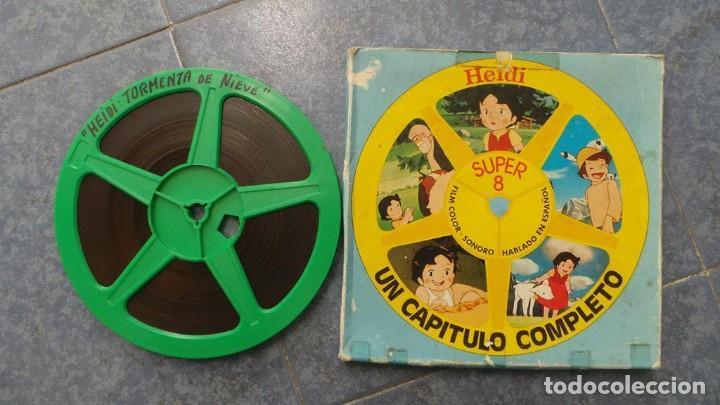 Cine: HEIDI-TORMENTA DE NIEVE,1976-PELÍCULA SUPER 8MM-RETRO VINTAGE FILM - Foto 31 - 107259927