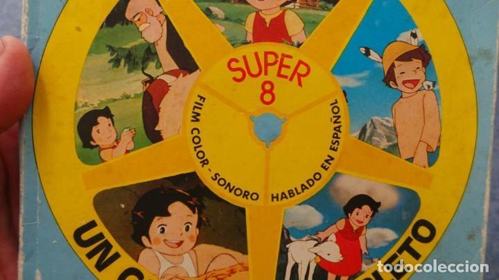 Cine: HEIDI-TORMENTA DE NIEVE,1976-PELÍCULA SUPER 8MM-RETRO VINTAGE FILM - Foto 34 - 107259927