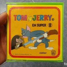Cine: TOM Y JERRY- SE LOS LLEVO LA TRAMPA-PELICULA SUPER 8MM RETRO VINTAGE FILM. Lote 107354331