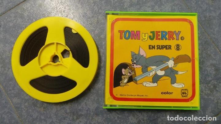 TOM Y JERRY-EL HUERFANITO- PELÍCULA SUPER 8MM RETRO VINTAGE FILM (Cine - Películas - Super 8 mm)