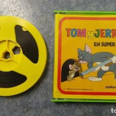 Cine: TOM Y JERRY-EL HUERFANITO- PELÍCULA SUPER 8MM RETRO VINTAGE FILM. Lote 107354823
