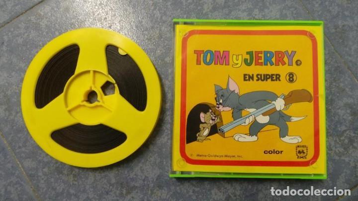 Cine: TOM Y JERRY-EL HUERFANITO- PELÍCULA SUPER 8MM RETRO VINTAGE FILM - Foto 28 - 107354823