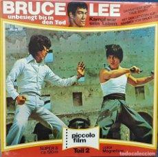 Cine: BRUCE LEE - PELICULA SUPER 8 - PICCOLO FILM - EN ALEMAN. Lote 107477003