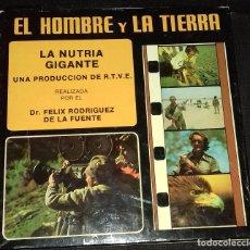 Cinéma: SUPER 8 ++ EL HOMBRE Y LA TIERRA. LA NUTRIA GIGANTE +DC+ BOBINA DE 180 METROS. Lote 107758087