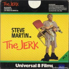 Cine: SUPER 8 ++ THE JERK (UN LOCO ANDA SUELTO) ++ MEDIOMETRAJE 2X120 METROS VO. Lote 109405887