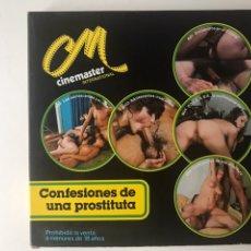 "Cine: PELÍCULA X SÚPER 8MM. ""CONFESIONES DE UNA PROSTITUTA"". Lote 110071062"