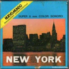 Cine: SUPER 8 ++ DOCUMENTAL NEW YORK +DC+ 120 METROS. Lote 110361611