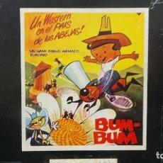 Cine: BUM BUM( JOE ) EN LA FIESTA DE LAS ABEJAS, PELÍCULA SUPER 8MM, RETRO VINTAGE FILM. Lote 110372543