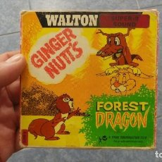 Cine: GINGER NUTS (FOREST DRAGON) , PELÍCULA SUPER 8MM, RETRO VINTAGE FILM. Lote 110373315
