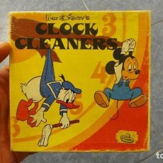 Cine: CLOCK CLEANERS-WALT DISNEY PELICULA SUPER 8MM RETRO VINTAGE FILM. Lote 110376891