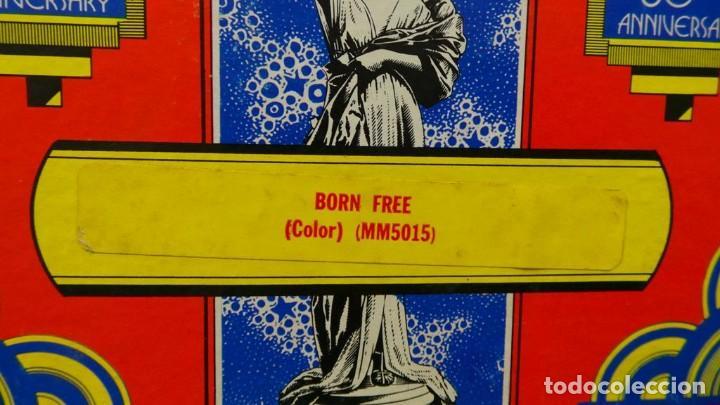 Cine: BORN FREE(Nacida Libre)-REDUCCIÓN, Versión Original Inglés PELÍCULA-SUPER 8 MM-RETRO-VINTAGE FILM - Foto 10 - 112674367