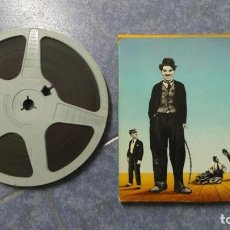CHARLOT(CHARLOT MACHINISTE)CHARLOT TRAMOYISTA,PELÍCULA-SUPER 8 MM-RETRO-VINTAGE FILM