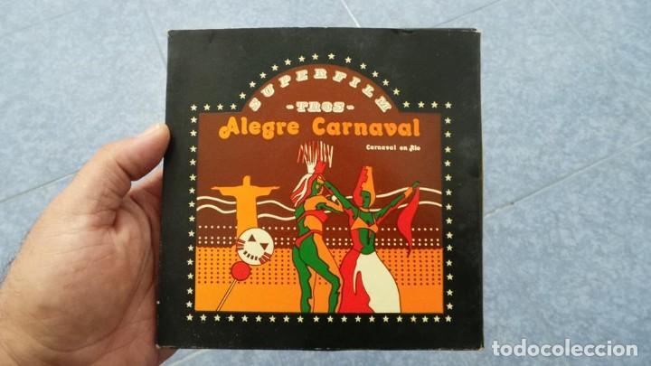 ALEGRE CARNAVAL-(CARNAVAL EN RÍO) PELÍCULA SUPER 8 MM-RETRO VINTAGE FILM (Cine - Películas - Super 8 mm)