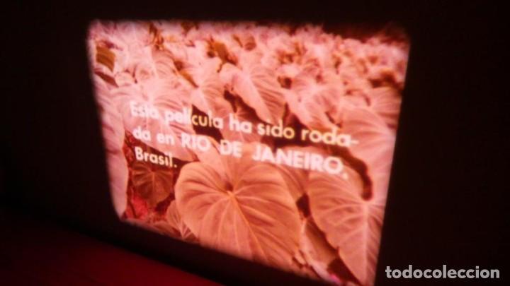 Cine: ALEGRE CARNAVAL-(CARNAVAL EN RÍO) PELÍCULA SUPER 8 MM-RETRO VINTAGE FILM - Foto 12 - 112675615