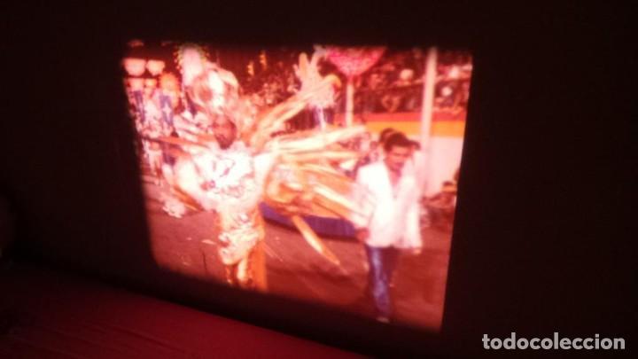 Cine: ALEGRE CARNAVAL-(CARNAVAL EN RÍO) PELÍCULA SUPER 8 MM-RETRO VINTAGE FILM - Foto 34 - 112675615