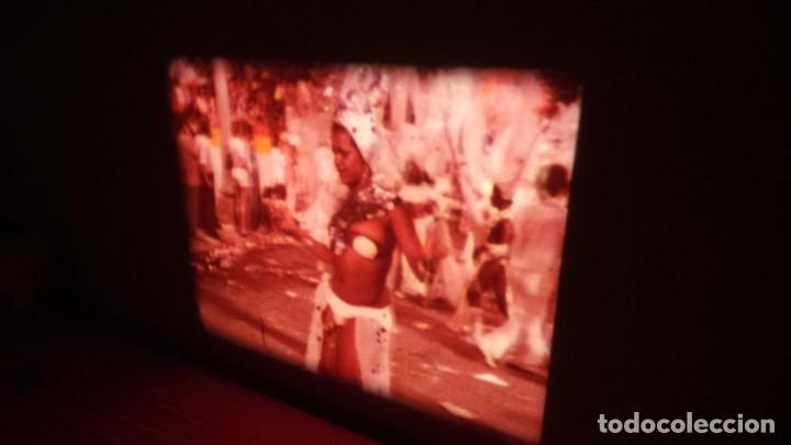 Cine: ALEGRE CARNAVAL-(CARNAVAL EN RÍO) PELÍCULA SUPER 8 MM-RETRO VINTAGE FILM - Foto 36 - 112675615