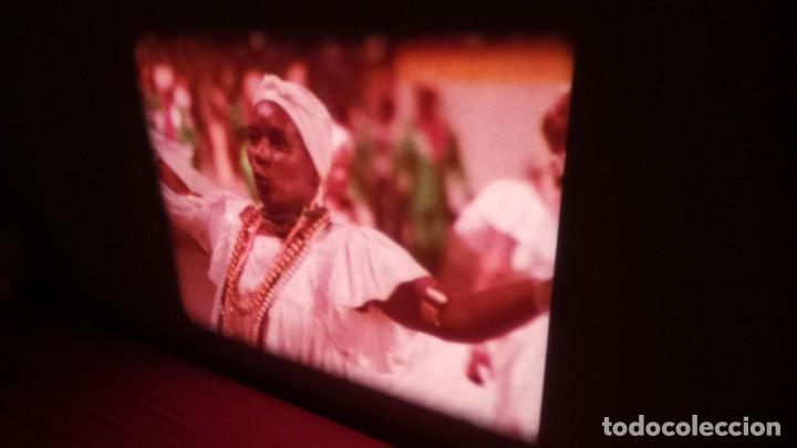 Cine: ALEGRE CARNAVAL-(CARNAVAL EN RÍO) PELÍCULA SUPER 8 MM-RETRO VINTAGE FILM - Foto 43 - 112675615