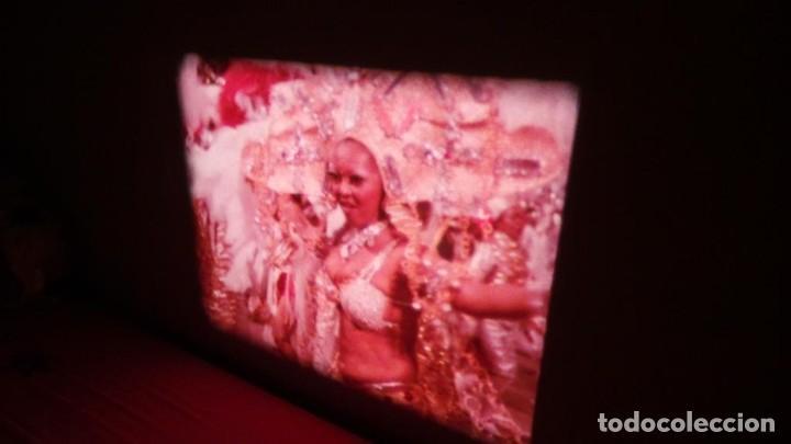 Cine: ALEGRE CARNAVAL-(CARNAVAL EN RÍO) PELÍCULA SUPER 8 MM-RETRO VINTAGE FILM - Foto 48 - 112675615