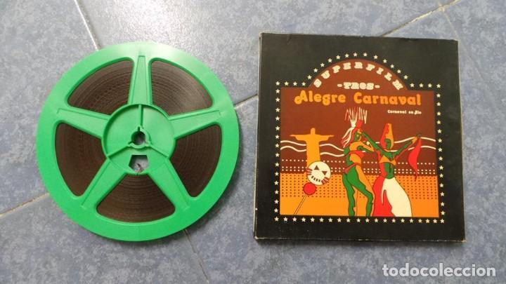 Cine: ALEGRE CARNAVAL-(CARNAVAL EN RÍO) PELÍCULA SUPER 8 MM-RETRO VINTAGE FILM - Foto 63 - 112675615