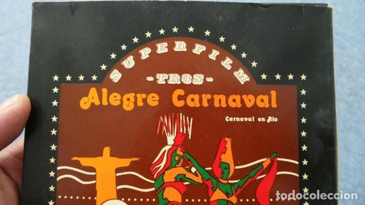 Cine: ALEGRE CARNAVAL-(CARNAVAL EN RÍO) PELÍCULA SUPER 8 MM-RETRO VINTAGE FILM - Foto 65 - 112675615