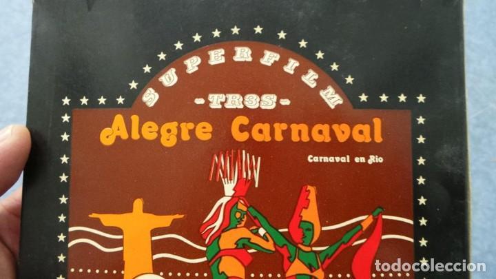 Cine: ALEGRE CARNAVAL-(CARNAVAL EN RÍO) PELÍCULA SUPER 8 MM-RETRO VINTAGE FILM - Foto 66 - 112675615