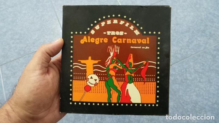 Cine: ALEGRE CARNAVAL-(CARNAVAL EN RÍO) PELÍCULA SUPER 8 MM-RETRO VINTAGE FILM - Foto 68 - 112675615