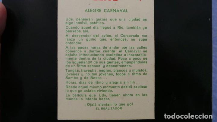 Cine: ALEGRE CARNAVAL-(CARNAVAL EN RÍO) PELÍCULA SUPER 8 MM-RETRO VINTAGE FILM - Foto 73 - 112675615