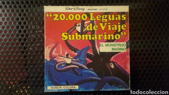 SUPER 8 - 20.000 LEGUAS DE VIAJE SUBMARINO - EL MONSTRUO MARINO - WALT DISNEY (Cine - Películas - Super 8 mm)