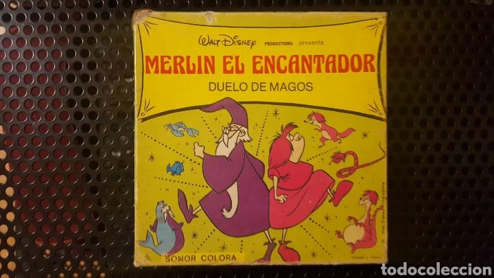 SUPER 8 - MERLIN EL ENCANTADOR - DUELO DE MAGOS (Cine - Películas - Super 8 mm)