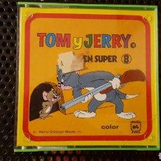 Cine: SUPER 8 - TOM Y JERRY - AVENTURAS PERRUNAS - COLOR / SONORA. Lote 112978622