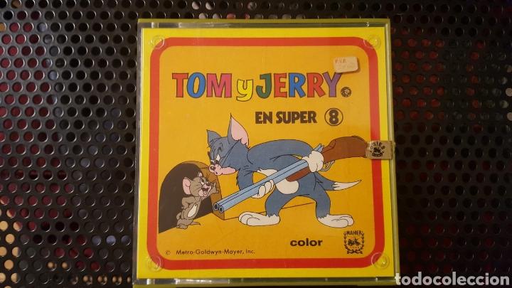 SUPER 8 - TOM Y JERRY - TRES DIABLILLOS - COLOR / SONORA (Cine - Películas - Super 8 mm)