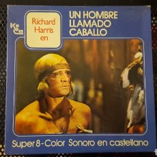 Cine: SUPER 8 - UN HOMBRE LLAMADO CABALLO - PELICULA COMPLETA. Lote 113071703