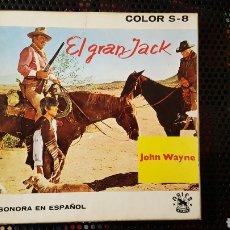 Cine: SUPER 8 - EL GRAN JACK - JOHN WAYNE - BOBINA DE 180 M. Lote 113073630