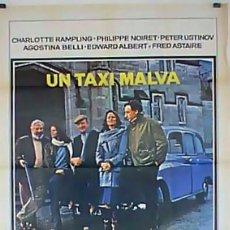 Cine: UN TAXI MALVA . UN TAXI MAUVE (THE PURPLE TAXI) - LARGOMETRAJE . Lote 113151831
