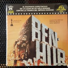 Cine: SUPER 8 - BEN-HUR - CHARLTON HESTON - BOBINA DE 120 M. Lote 113156396