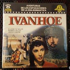 Cine: SUPER 8 - IVANHOE - ELIZABETH TAYLOR - BOBINA DE 120 M. Lote 113157374